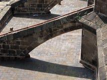 Detalhe da catedral imagem de stock royalty free