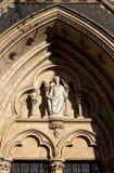 Detalhe da catedral de Southwark fotos de stock
