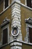 Detalhe da construção, Campo de Fiori, Roma, Itália Fotos de Stock Royalty Free