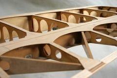 Detalhe da construção da asa fotografia de stock