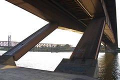 Detalhe da construção de ponte Fotografia de Stock Royalty Free