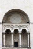 Detalhe da construção de Timisoara Opera Imagem de Stock Royalty Free