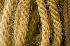 Detalhe da corda imagem de stock