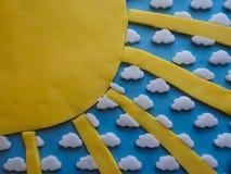 Detalhe da crosta de gelo do bolo Fotografia de Stock