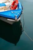 Detalhe da curva do barco Fotografia de Stock