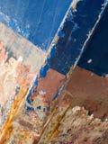 Detalhe da curva do barco salva-vidas Fotografia de Stock Royalty Free