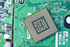 Detalhe da eletrônica imagens de stock