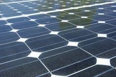 Detalhe da energia solar Fotografia de Stock Royalty Free