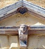 Detalhe da entrada na rua principal de Perth, Escócia datado de 1699 Imagens de Stock Royalty Free
