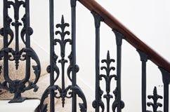 Detalhe da escadaria foto de stock