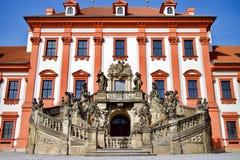 Detalhe da escadaria do palácio Fotografia de Stock