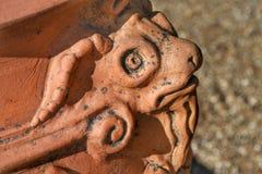 Detalhe da escultura Imagem de Stock