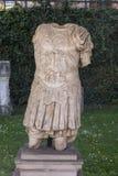 Detalhe da escultura romana velha Foto de Stock Royalty Free