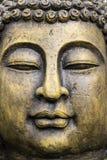 Detalhe da estátua de buddha do jardim Fotos de Stock Royalty Free