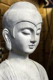 Detalhe da estátua de buddha do jardim Foto de Stock