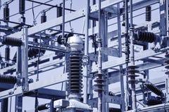 Detalhe da estrutura da central elétrica Planta de energia Produto bonde Fotografia de Stock