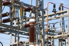 Detalhe da estrutura da central elétrica Planta de energia Produto bonde Imagem de Stock Royalty Free