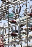 Detalhe da estrutura da central elétrica Planta de energia Produto bonde Fotos de Stock