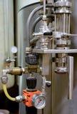 Detalhe da fábrica do vinho Imagem de Stock