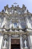 Detalhe da fachada da igreja de Carmo, em Porto Imagem de Stock
