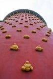 Detalhe da fachada de Dali Theatre-Museum fotos de stock