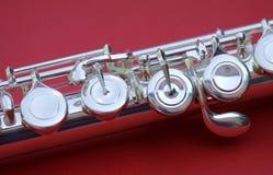 Detalhe da flauta Foto de Stock Royalty Free