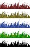 Detalhe da grama ilustração do vetor