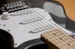 Detalhe da guitarra Imagem de Stock Royalty Free