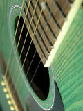 Detalhe da guitarra Imagens de Stock Royalty Free