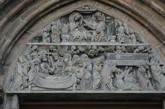 Detalhe da igreja de Nuremberg Foto de Stock Royalty Free