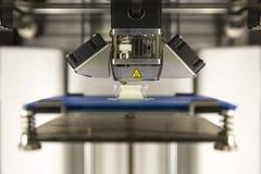 detalhe da impressora 3D Foto de Stock