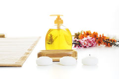 Detalhe da instalação da massagem Fotografia de Stock