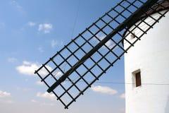 Detalhe da lâmina do moinho de vento imagens de stock