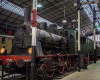 Detalhe da locomotiva de vapor Imagens de Stock Royalty Free