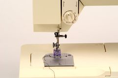 Detalhe da máquina de costura Foto de Stock