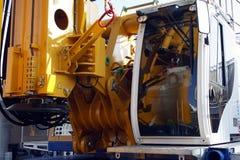 Detalhe da máquina de perfuração Fotos de Stock
