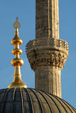 Detalhe da mesquita fotografia de stock