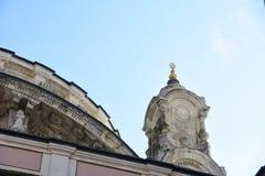 Detalhe da mesquita de Ortakoy imagens de stock