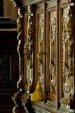 Detalhe da mobília antiga Imagem de Stock Royalty Free
