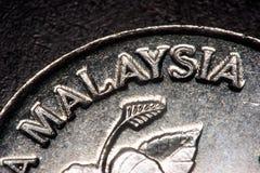 Detalhe da moeda Imagens de Stock