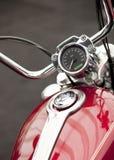 Detalhe da motocicleta Imagem de Stock
