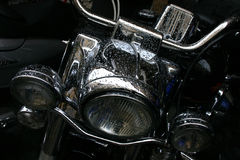 Detalhe da motocicleta Foto de Stock