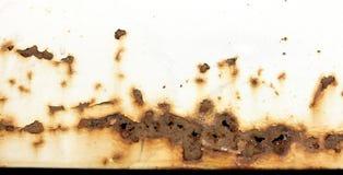 Detalhe da oxidação do carro Fotografia de Stock