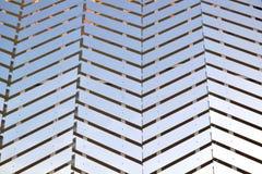 Detalhe da parede bonita da fachada do pavilhão de Cazaquistão na EXPO Milão 2015 imagem de stock