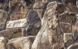Detalhe da parede da rocha fotos de stock