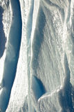 Detalhe da parede do gelo Imagem de Stock Royalty Free