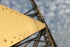 Detalhe da ponte da história Fotos de Stock Royalty Free