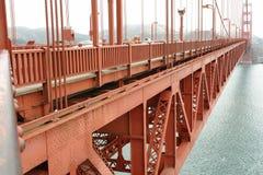 Detalhe da ponte da porta de Golde Imagem de Stock Royalty Free