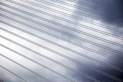 Detalhe da ponte de cruzamento de Queensferry Fotografia de Stock Royalty Free