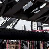 Detalhe da ponte de Wiliamsburg, NY Imagem de Stock